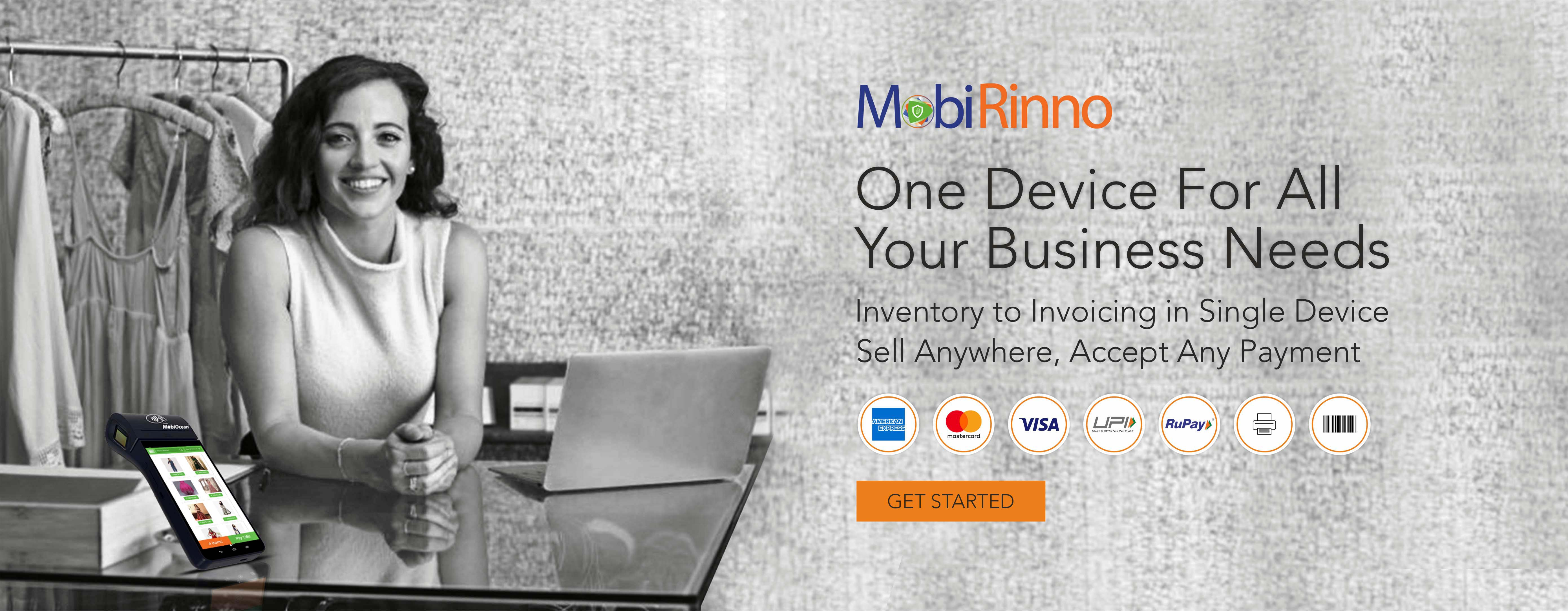 MobiRinno POS Software Solution | Android POS | Digital Payments